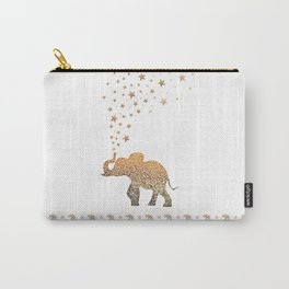 GOLD ELEPHANT Carry-All Pouch
