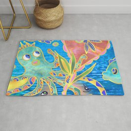 friendship ocean Rug