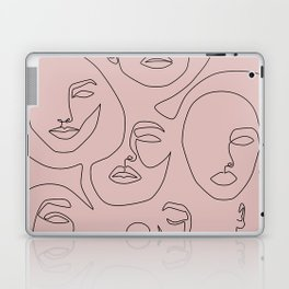 Blush Faces Laptop & iPad Skin