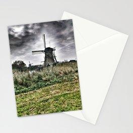 Kinderdijk Windmill - The Netherlands Stationery Cards