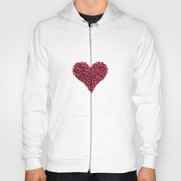 Pomegranate Heart Hoody