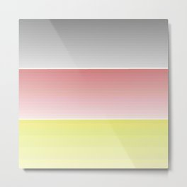 Flag of Germany  - With color gradient Metal Print