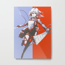 Anime Attack On Titan Metal Print