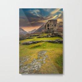Dolbadarn Castle Snowdonia Wales Metal Print