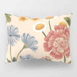 Wild Flowers ~ vol4. ~ light  Pillow Sham