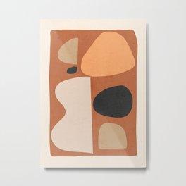 Abstract Shapes 51 Metal Print