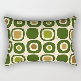 Mid Century Modern Garden Path Pattern 321 Rectangular Pillow