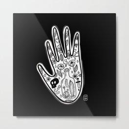 Hand tattoo Metal Print
