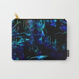 Blacklight Dreams of the Forest Carry-All Pouch