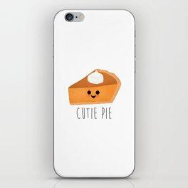 Cutie Pie iPhone Skin