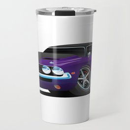 Classic Muscle Car Cartoon Travel Mug