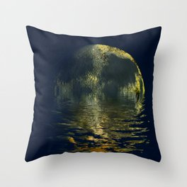 sandmoon Throw Pillow