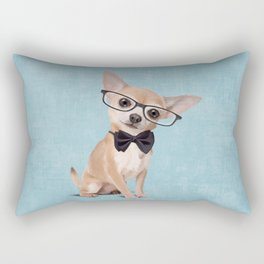 Mr. Chihuahua Rectangular Pillow