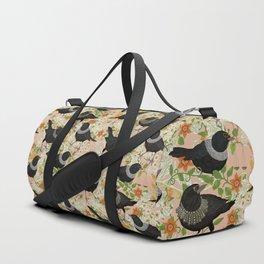 Ruth Bader GinsBIRD pink Duffle Bag