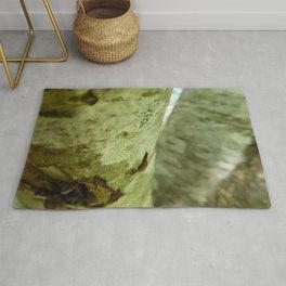 Scottish Photography Series (Vectorized) - Woodland Tree Bark Rug