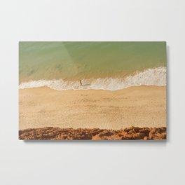 Beach Algarve Portugal Metal Print