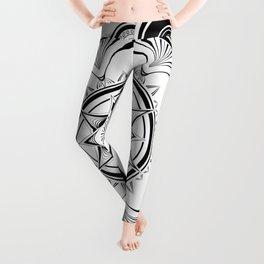 Psychedelic Mandala Leggings