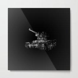 Soviet Tank Metal Print