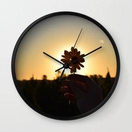 Summer Sunsets Wall Clock