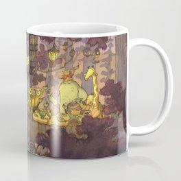 Treehouse Dinner With Animal Friends Coffee Mug