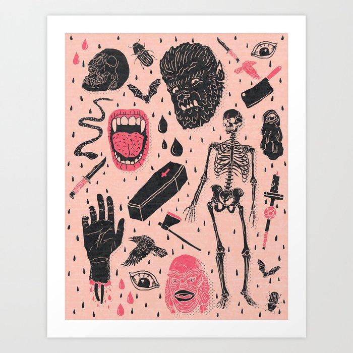 Whole Lotta Horror Kunstdrucke