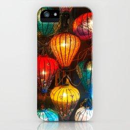 Lanterns in Hoi An iPhone Case