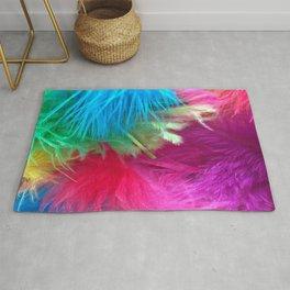 Flamboyant Feathers Rug