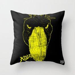 Shoebill the Killer Throw Pillow