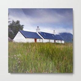 Cottage in the Glen Metal Print