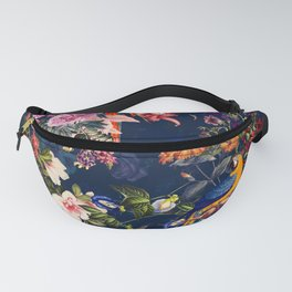 FLORAL AND BIRDS XII Fanny Pack