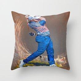eddie pepperell Throw Pillow