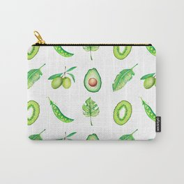 Green Things Carry-All Pouch