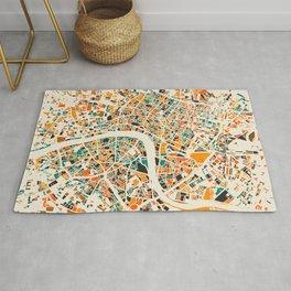 London Mosaic Map #4 Rug