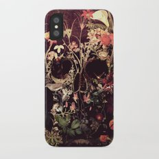 Bloom Skull iPhone X Slim Case