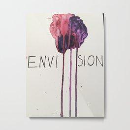 envision Metal Print