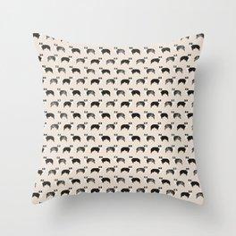 Aussie Dog - australian shepherds Throw Pillow