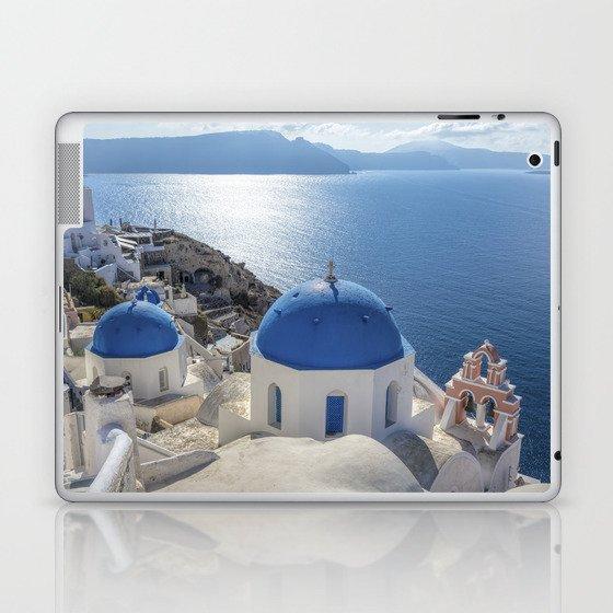 Santorini island in Greece Laptop & iPad Skin