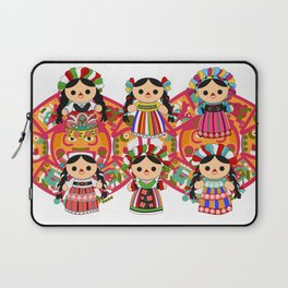 Mexican Dolls Laptop Sleeve
