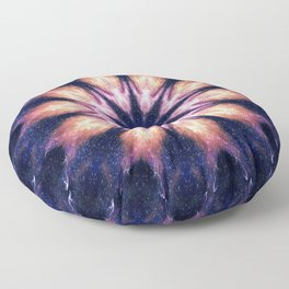 Lightening Mandala Floor Pillow