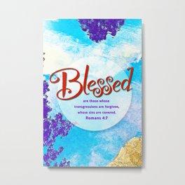 Blessed! Metal Print
