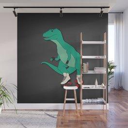 Tyrollersaurus Rex Wall Mural