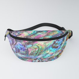 Shimmery Rainbow Abalone Mother of Pearl Fanny Pack