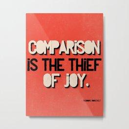 The Thief of Joy Metal Print