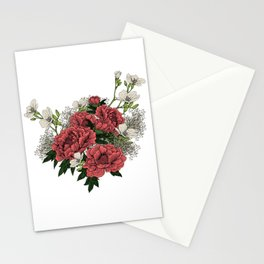"""Flower Arrangement Fall in Love Series """" The first glance"""" Stationery Cards"""