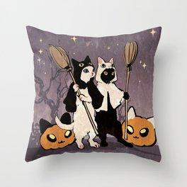 halloween cats Deko-Kissen
