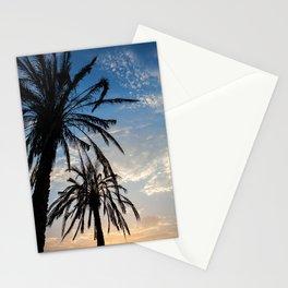 Sunsets Palms II Stationery Cards