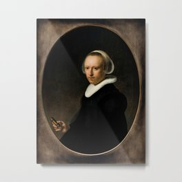 Portrait of a 39-year-old Woman Metal Print