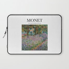Monet - The Artist's Garden at Giverny Laptop Sleeve