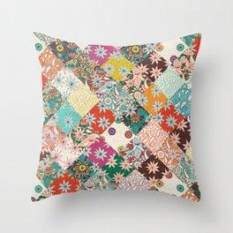 sarilmak patchwork Throw Pillow