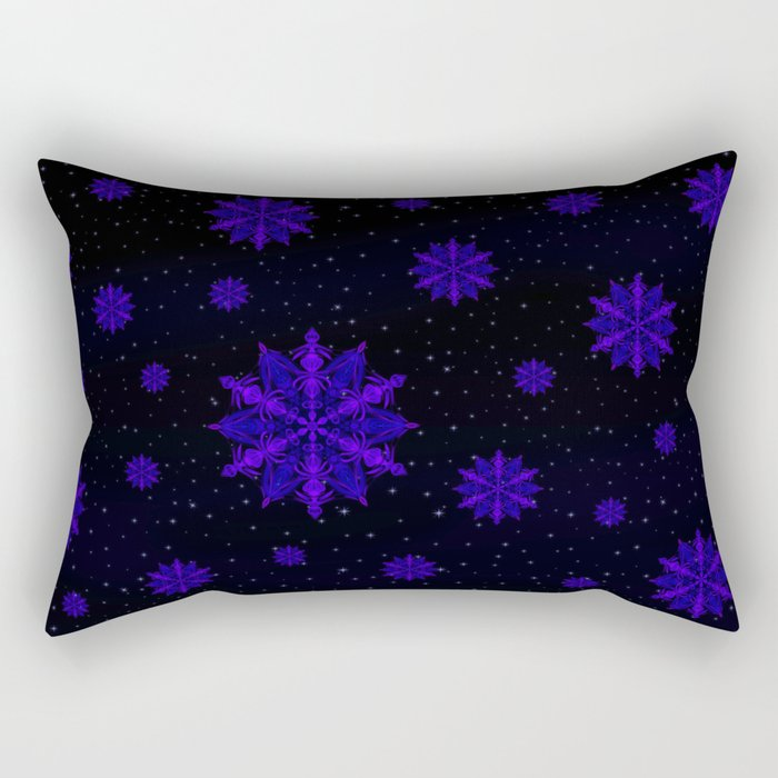 Crystal Blossom Adrift Rectangular Pillow
